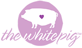 The White Pig Logo
